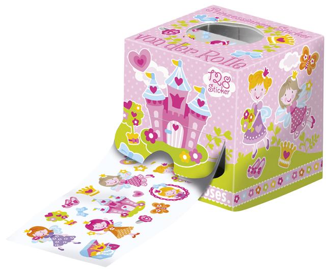 Papeterie Sticker  Prinzessin