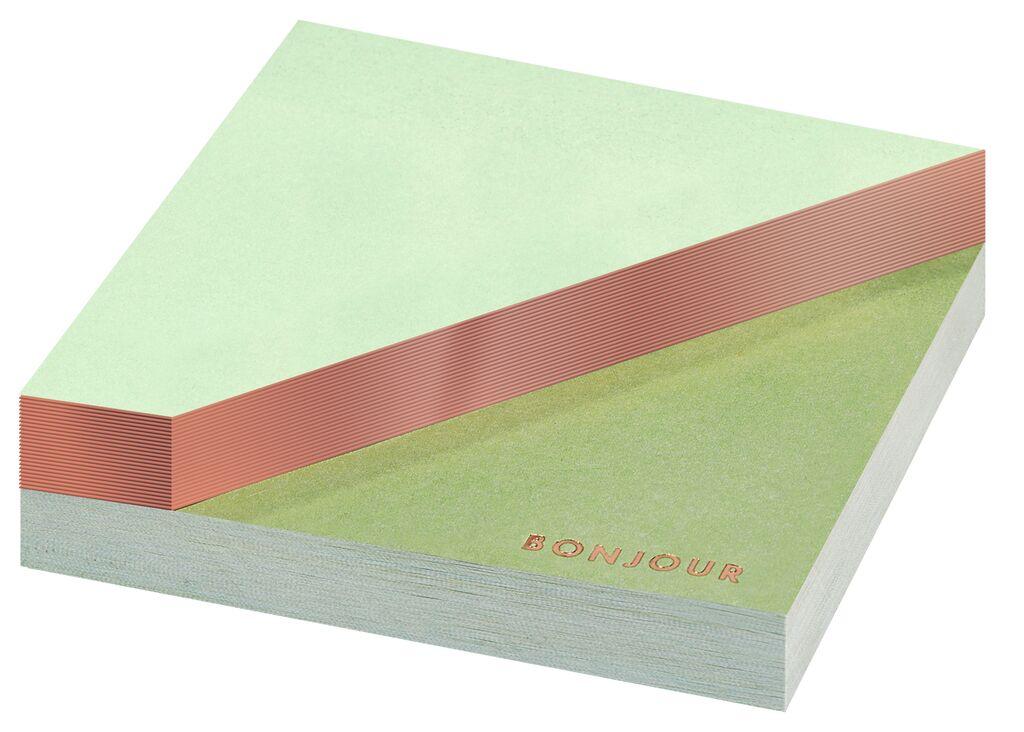 Papeterie Sticky notes Bright & Light grün