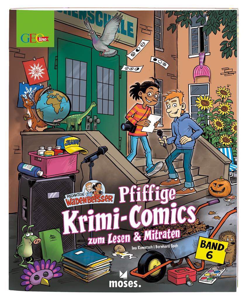 GEOlino Wadenbeißer - Krimi Comics (Band 6)