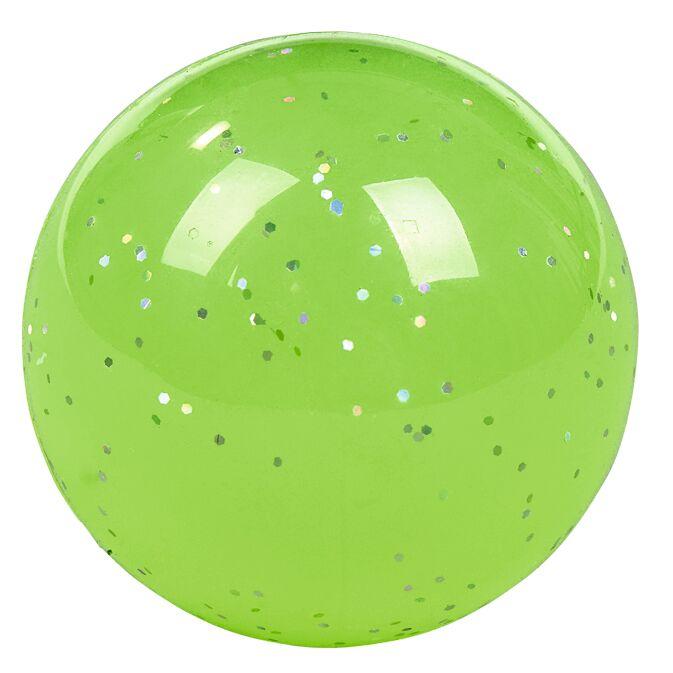 Nachtleuchtender Flummi grün