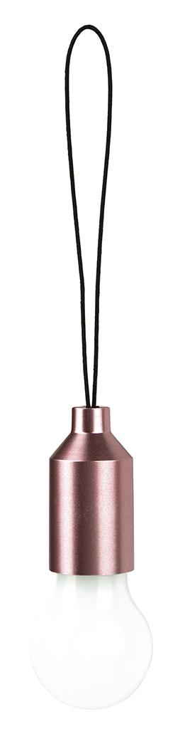 Mini-Glühbirne rosa