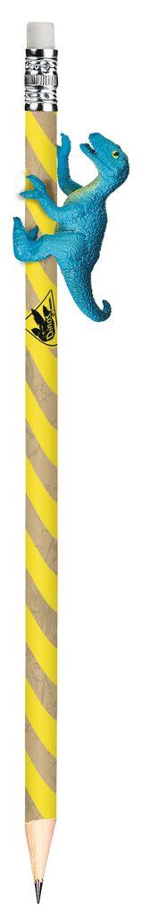 Dino-Bleistift gelb