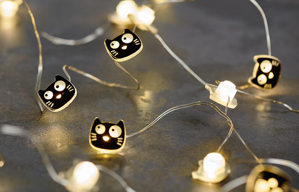 Ed, the Cat Mini-Lichterkette