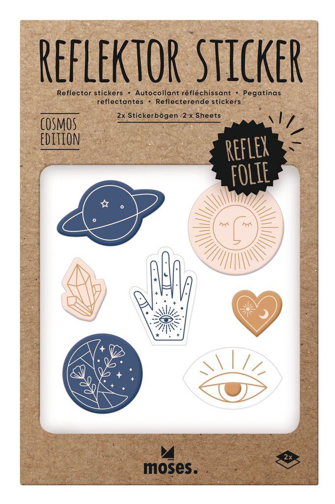 Reflektor-Sticker Cosmos