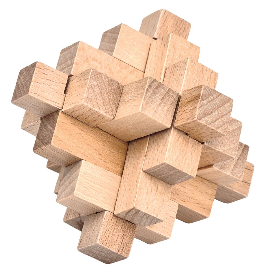 Be Clever! Classic Puzzle Natur Kristall