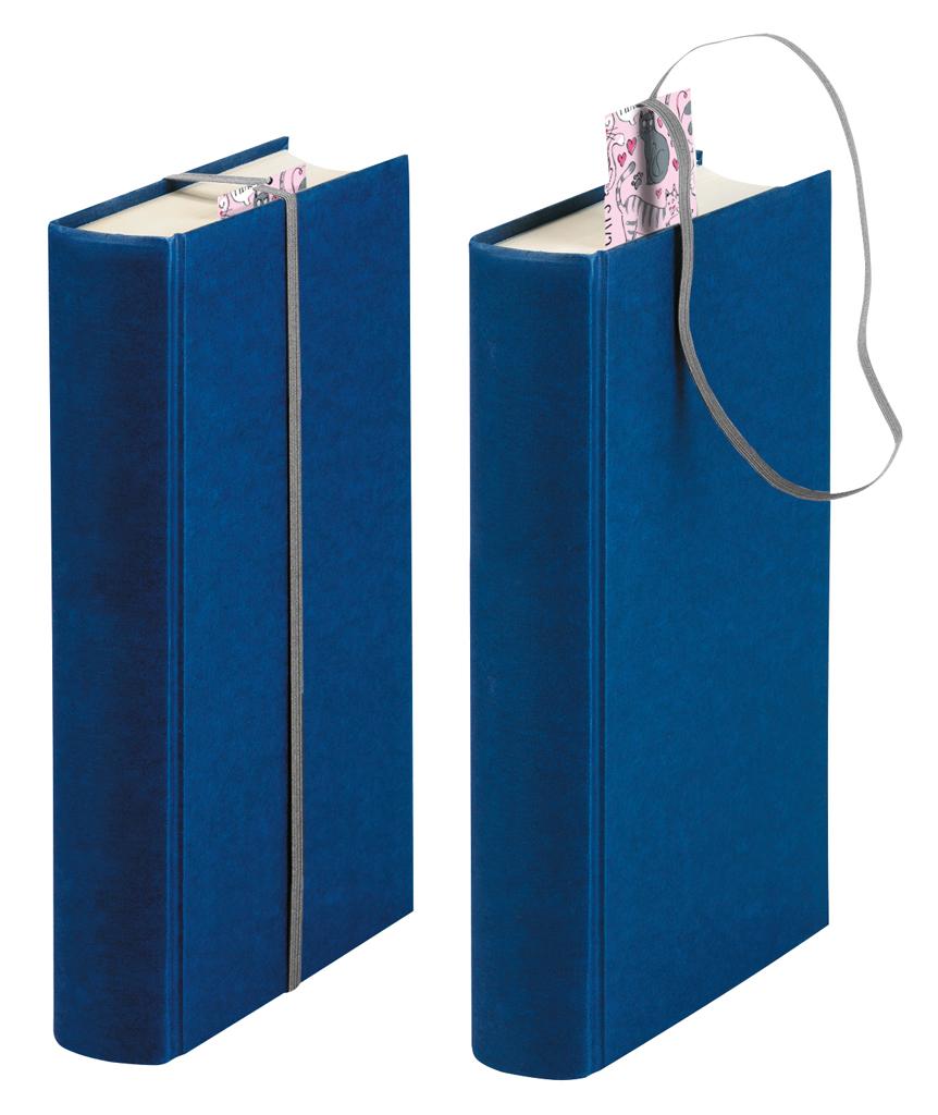 Lesezeichen mit Band Lesefuchs