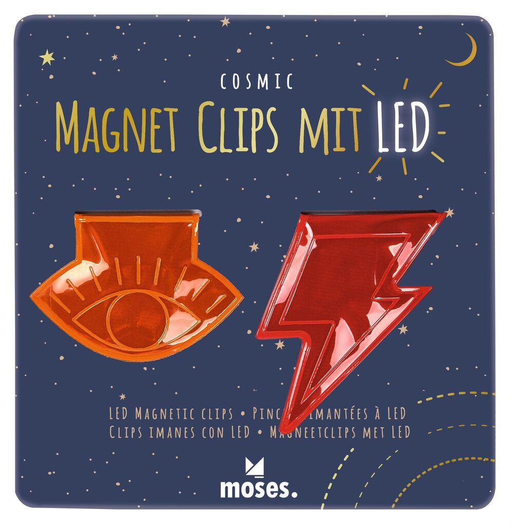 LED-Magnetclips 2er Set