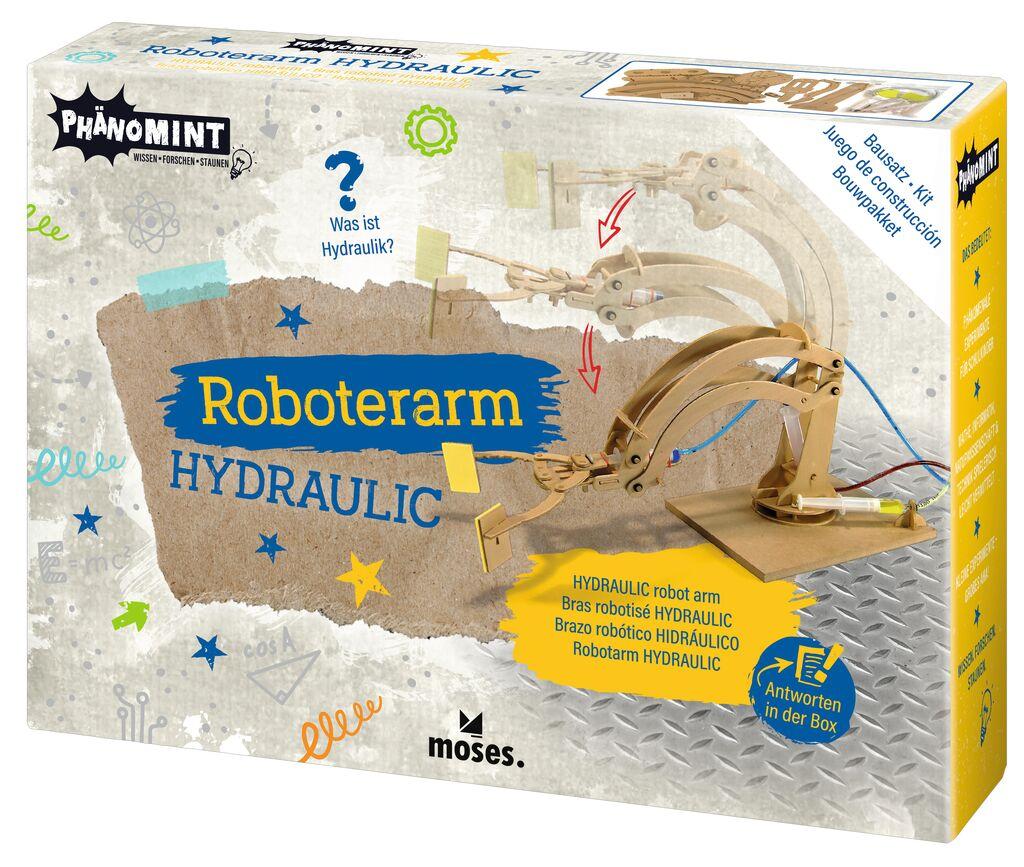 PhänoMINT Roboterarm Hydraulic