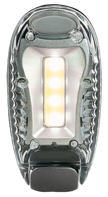 Expedition Natur LED-Clip silber