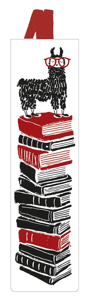 Lesezeichen mit Band Leselama