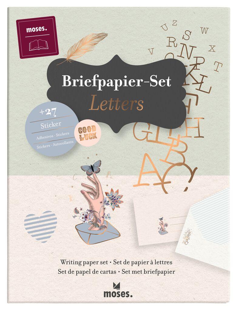 Briefpapier-Set Letters