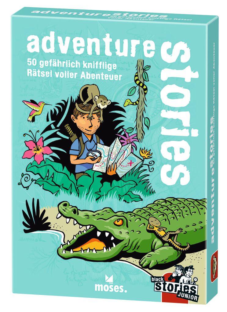 adventure stories - black stories Junior