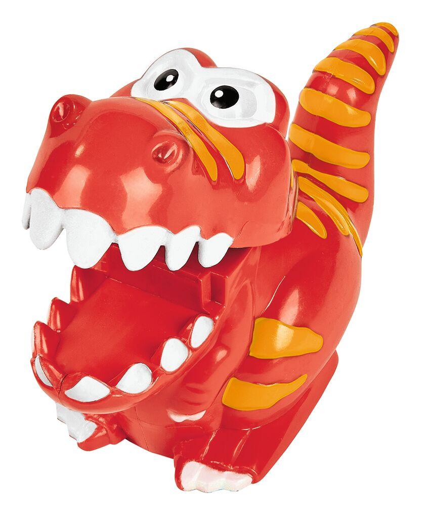 Flitzender T-Rex rot