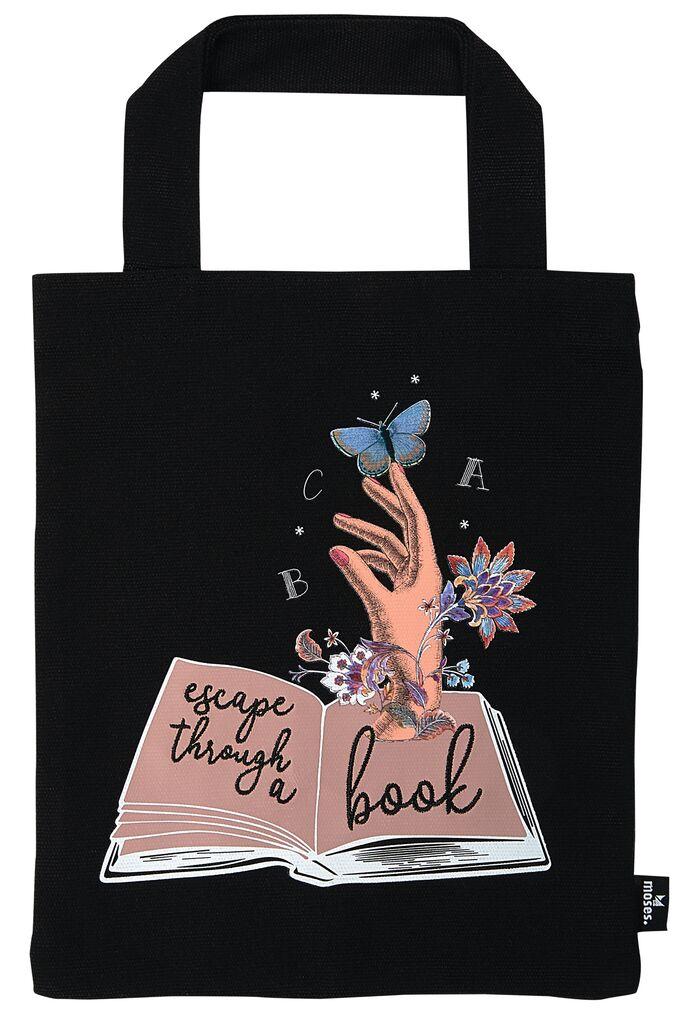 Büchertasche Escape through a book