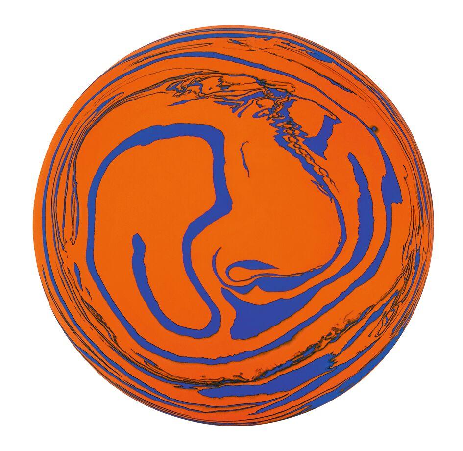 Planeten Sprungball orange