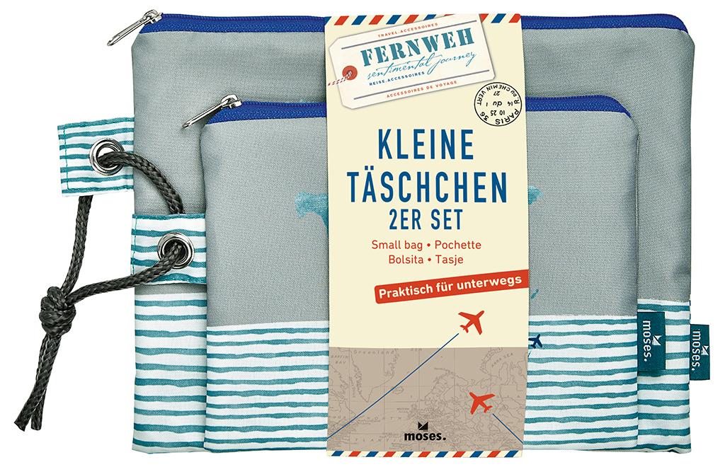 Fernweh Kleine Täschchen Bon Voyage 2er Set