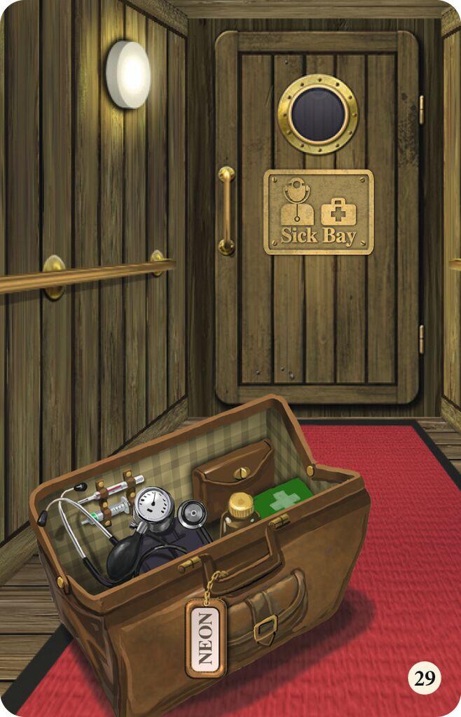 Seefahrt ins Ungewisse - Ein Knobel-Escape-Spiel