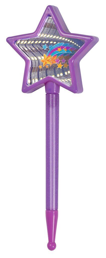 Kugelschreiber Magischer Spiegel violett