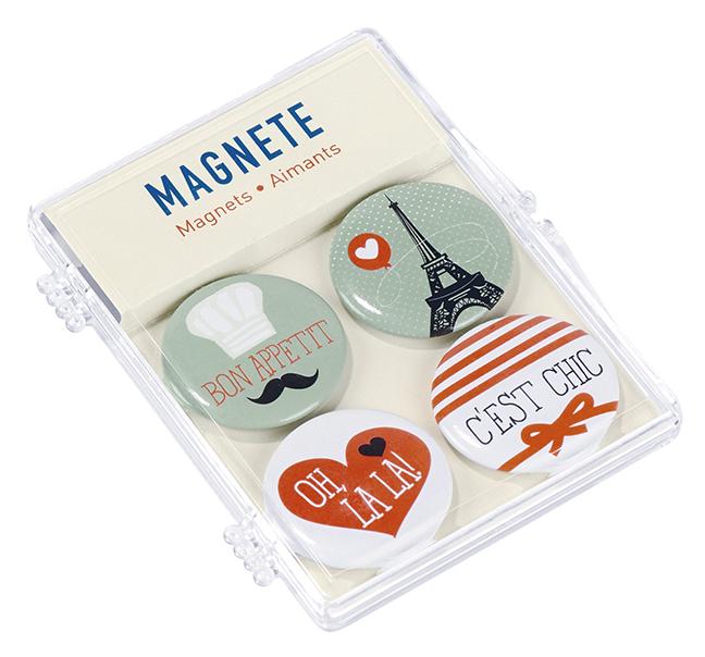 Fernweh Magnete Paris (4er Set)