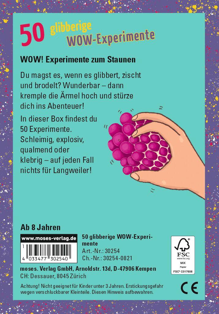 50 glibberige WOW-Experimente