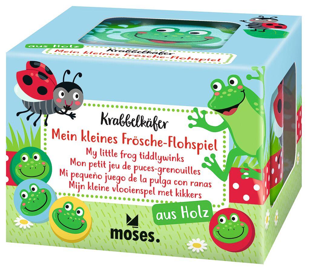 Krabbelkäfer - Mein kleines Frösche-Flohspiel