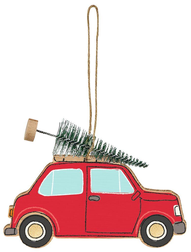 Anhänger Weihnachtsauto Auto