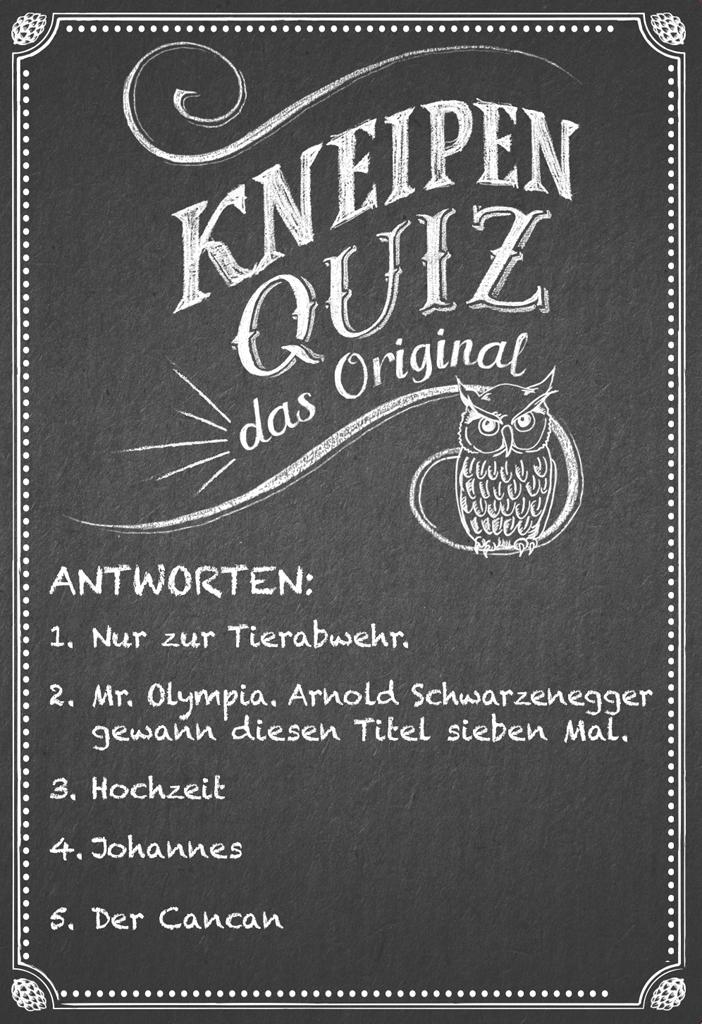 Kneipenquiz - Das Original
