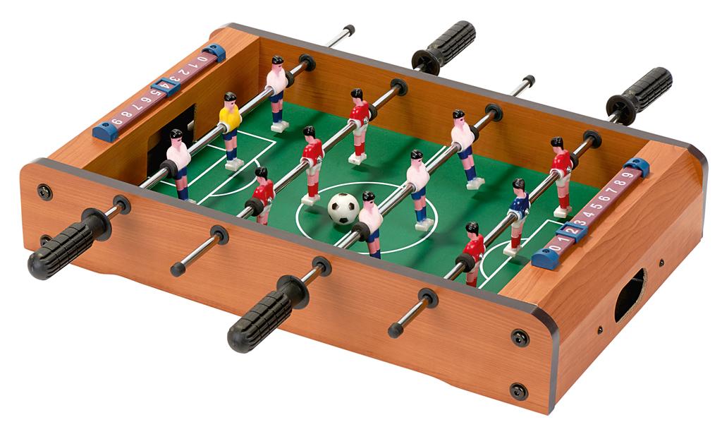 Tischkicker - Tisch-Fußball für Zuhause