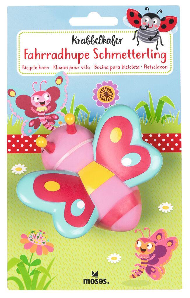 Krabbelkäfer Fahrradhupe Schmetterling