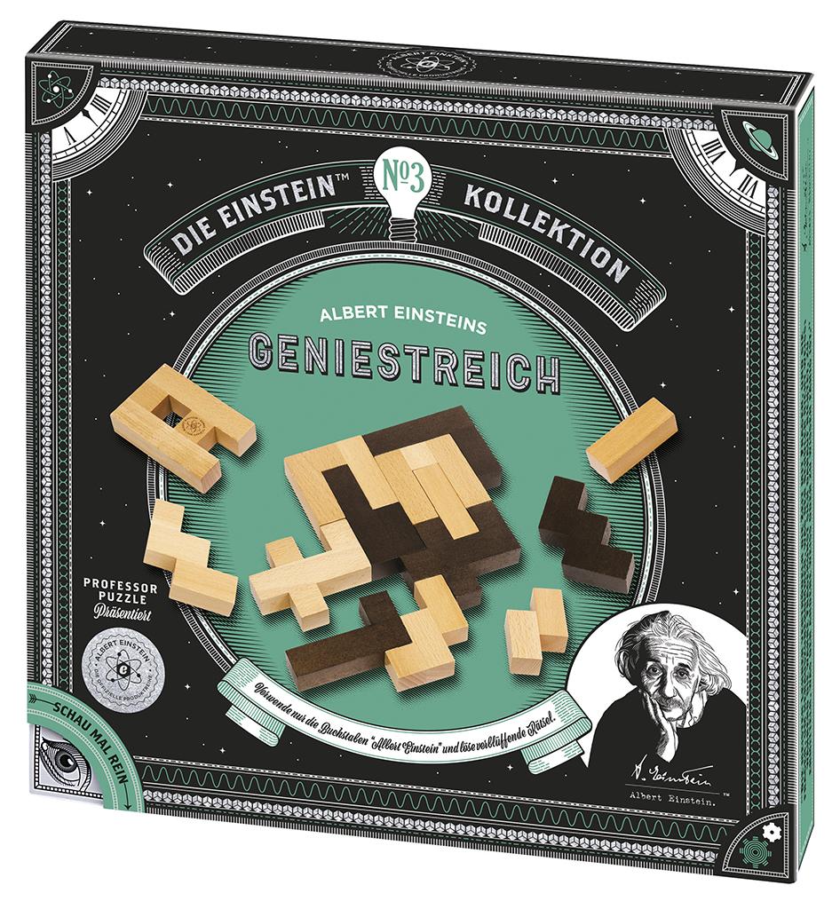 Albert Einsteins Geniestreich, Geduldspiel