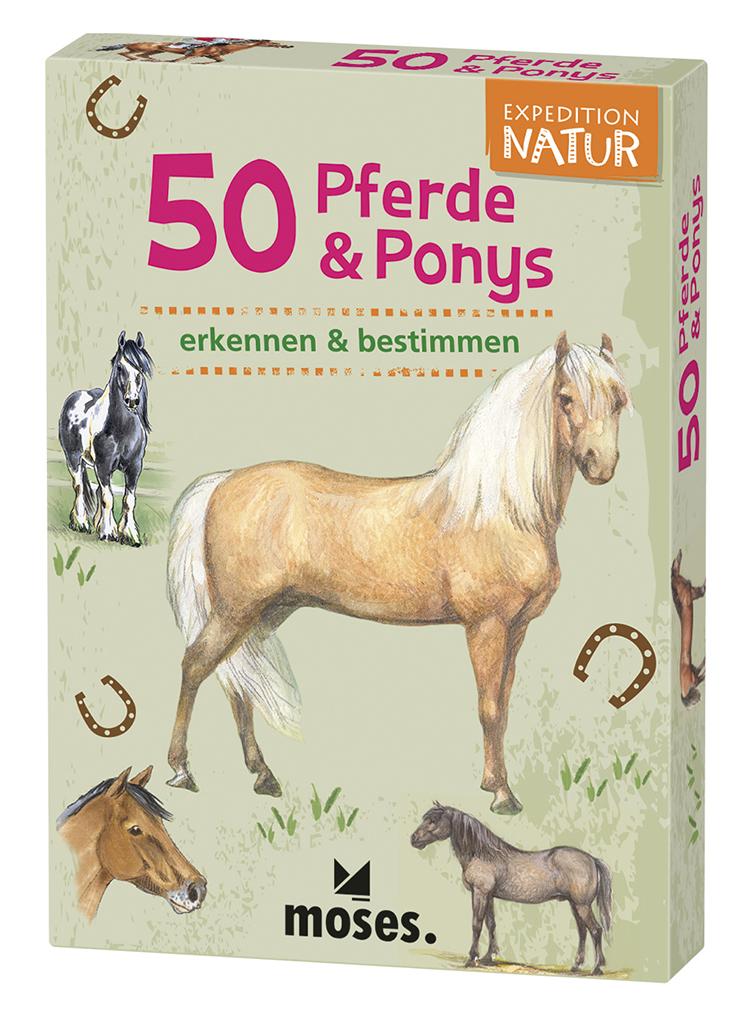 Expedition Natur - 50 Pferde & Ponys
