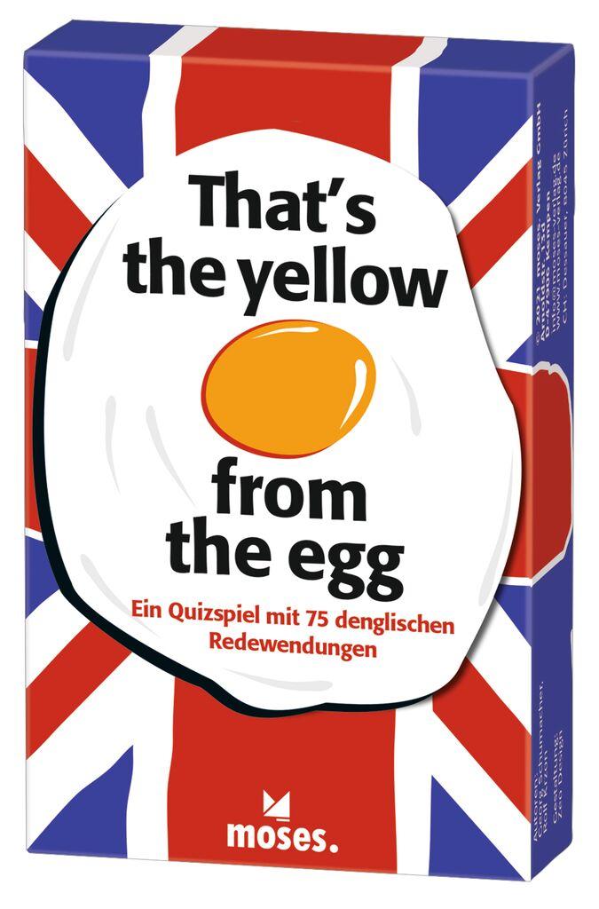 That's the yellow from the egg - Quizspiel rund um englische Redewendungen
