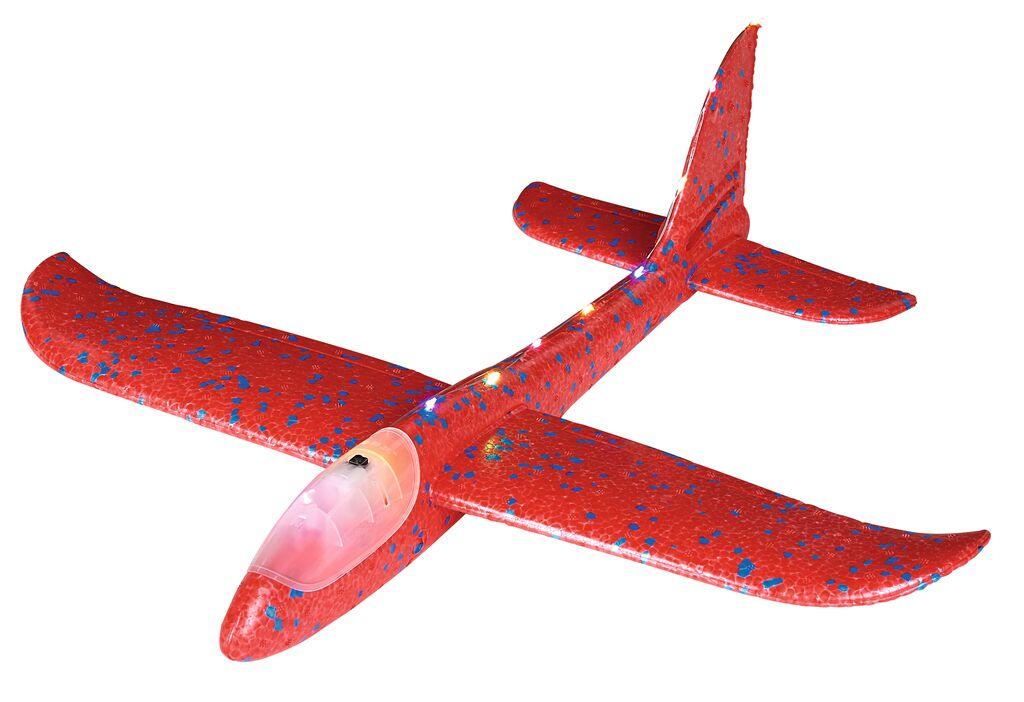 Leuchtender Segelflieger (mit LEDs) rot