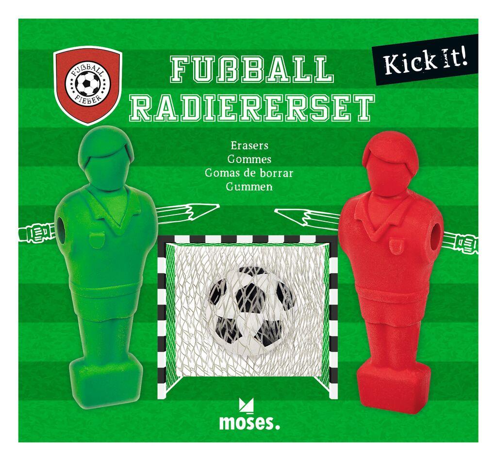 Fußball-Fieber Radiererset KICK IT