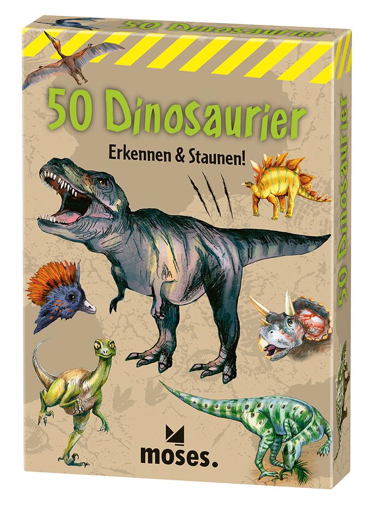 50 Dinosaurier - erkennen & staunen
