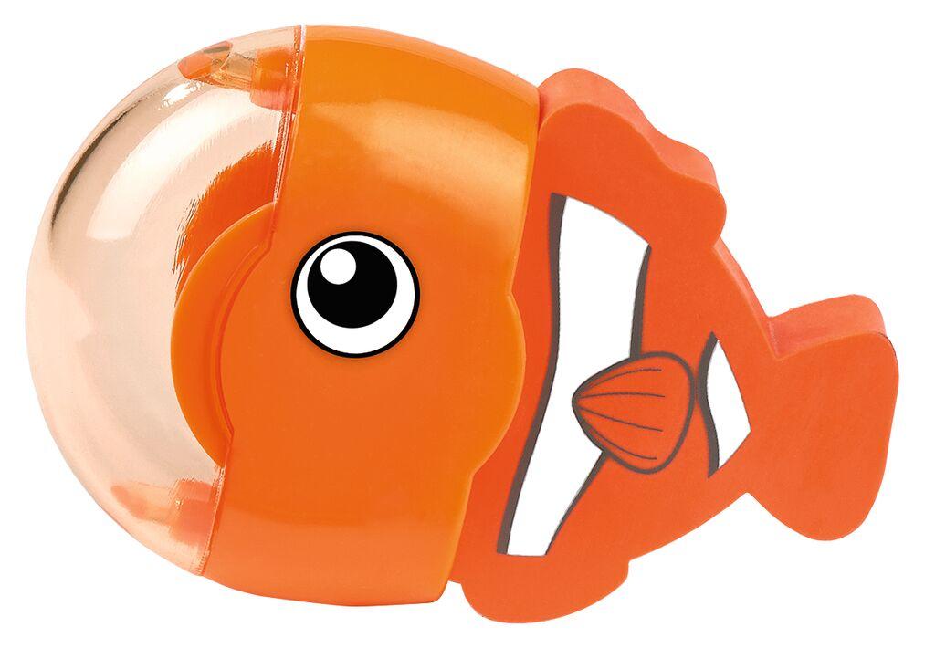 Radierer & Anspitzer Ozeanfreunde Fisch