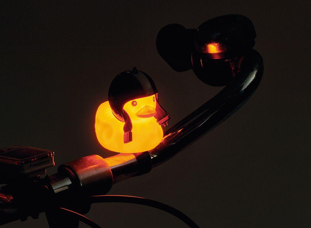 Fahrradhupe Leuchtendes Entchen (versch. Farben)