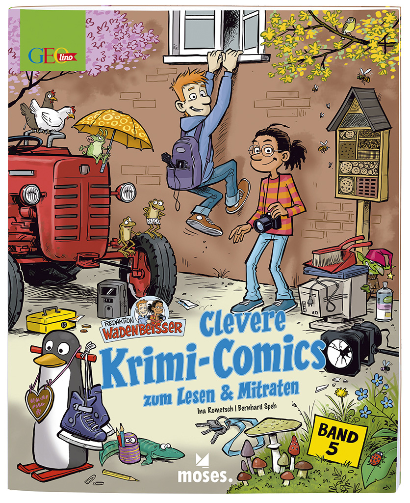 GEOlino Wadenbeißer - Krimi-Comics (Band 5)