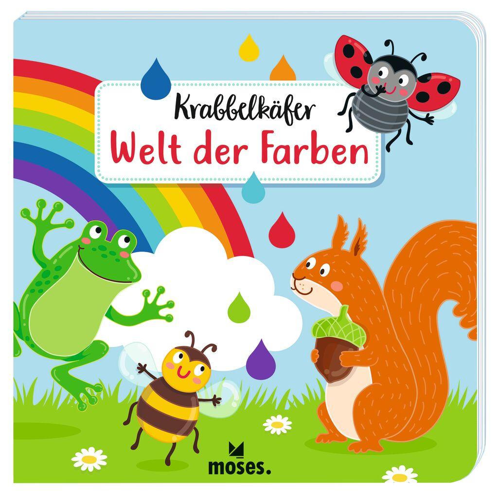 Krabbelkäfer Bilderbuch: Welt der Farben