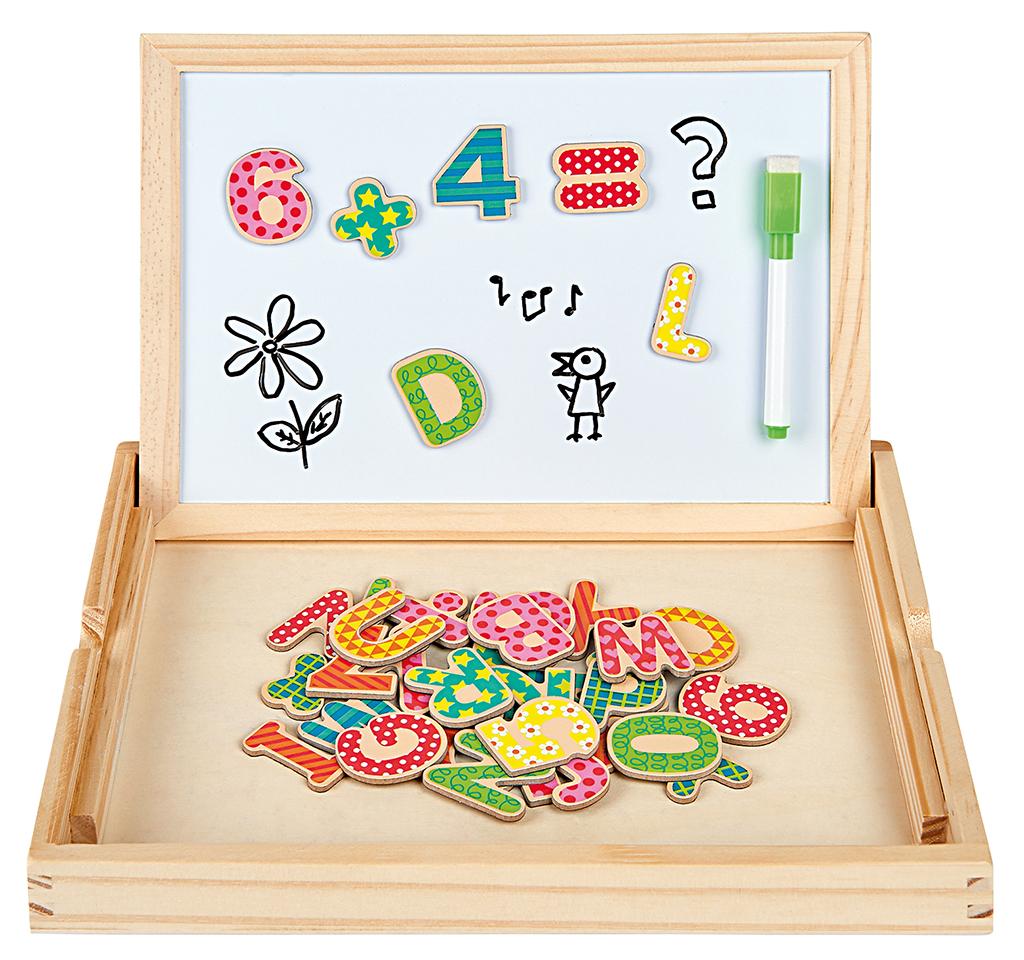 Magnettafel 2-in-1 - Kreidetafel und Whiteboard in einem