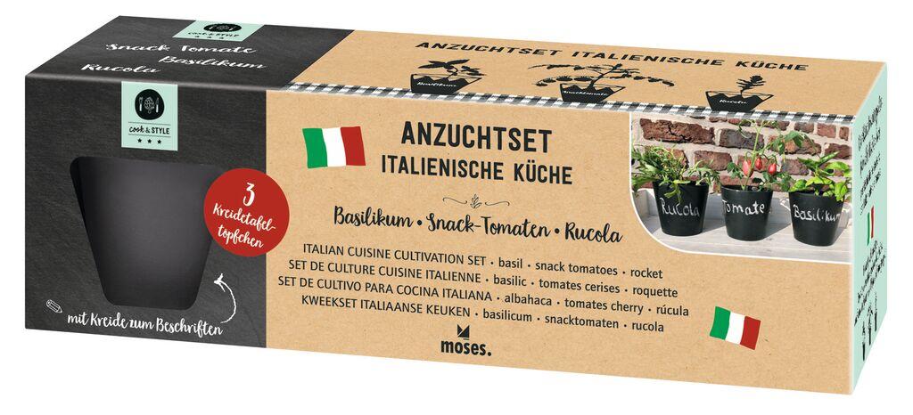 cook & STYLE Anzuchttöpfe Italienische Kräuter
