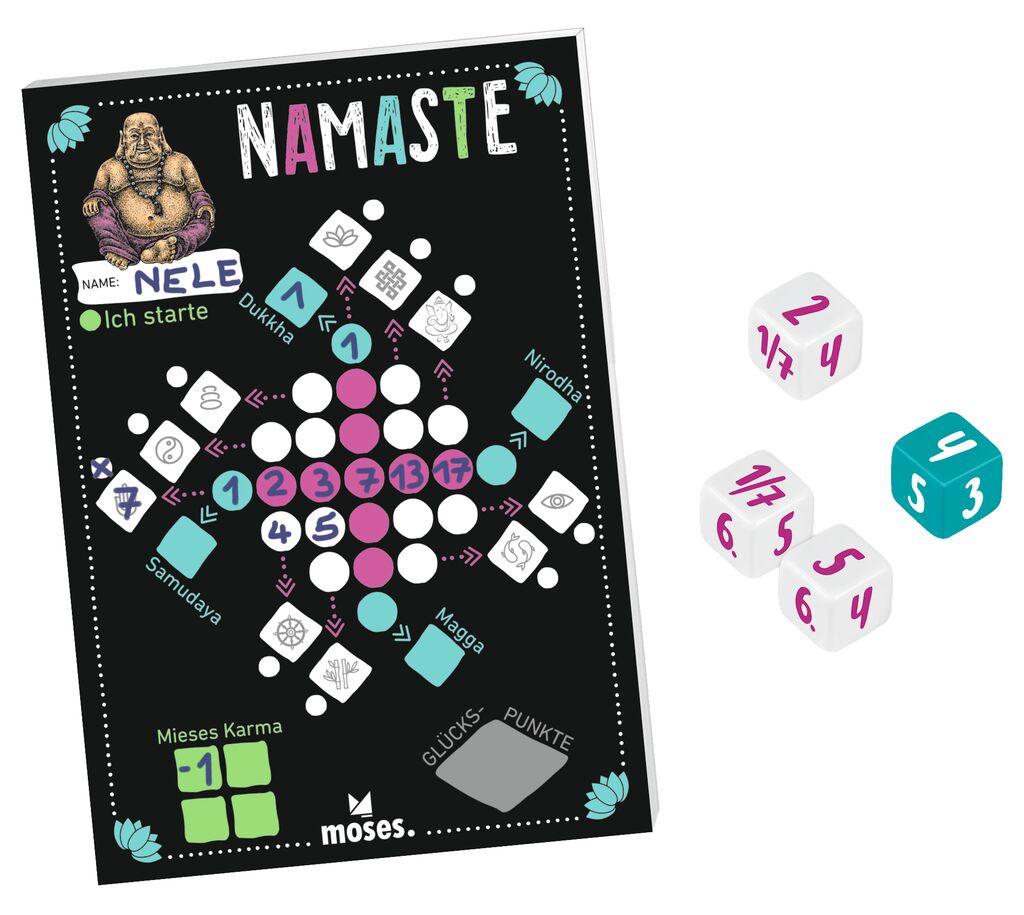 Namaste - Würfelspiel