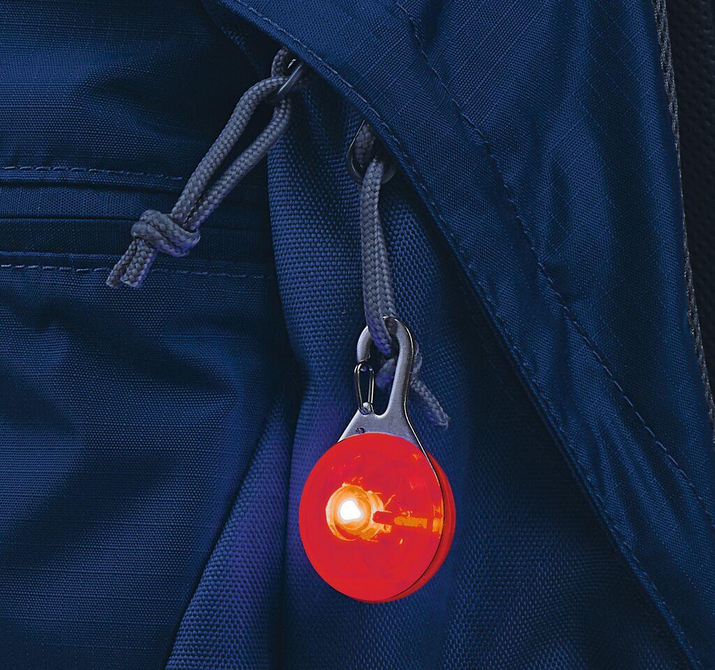 Leuchtender Clip-Anhänger mit LED (versch. Farben)