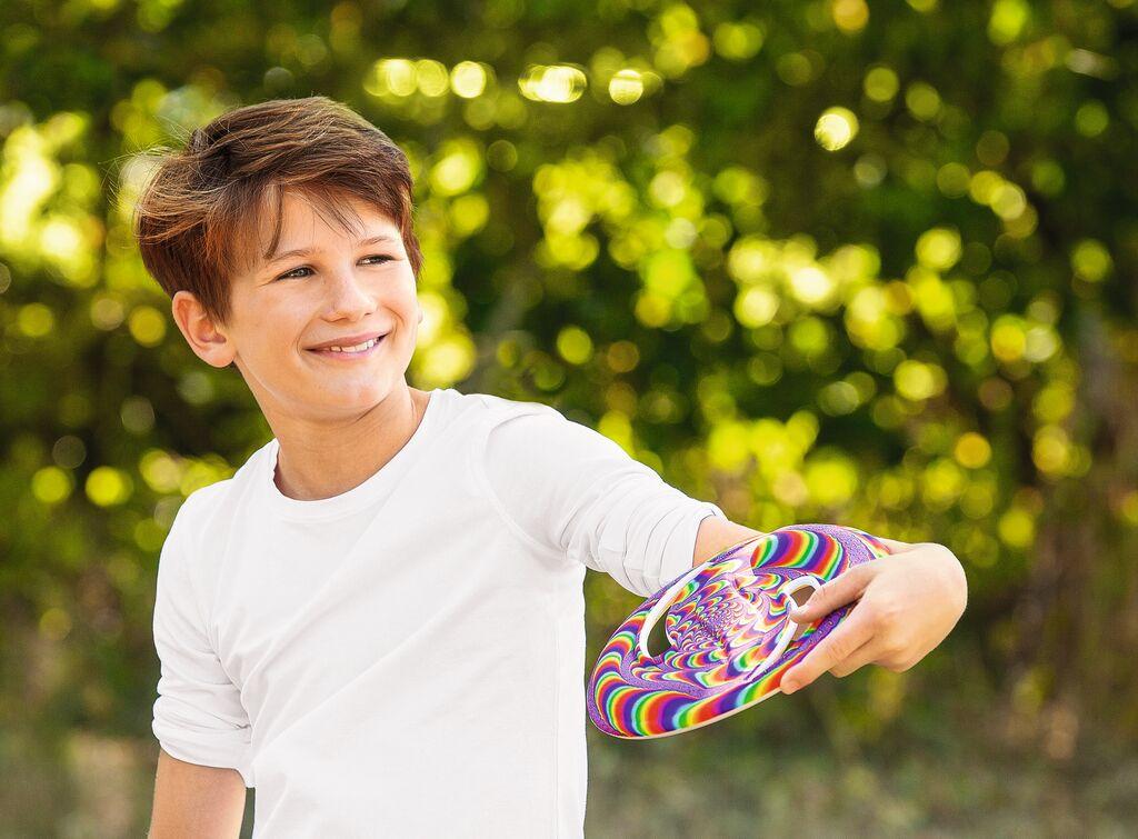 Bunte Soft-Frisbee (versch. Varianten)