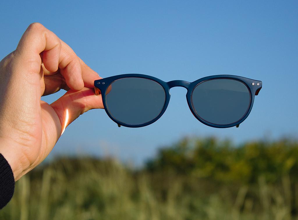 Sonnenbrille Style Navy