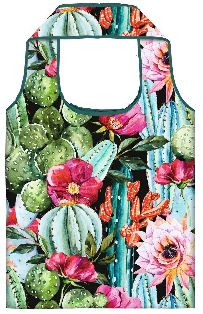 moses. Shopper Tropical Cactus aus recyceltem PET