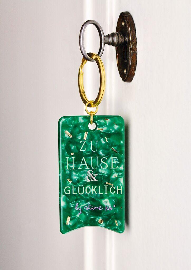 Papeterie Schlüsselanhänger Schnipselpoesie (versch. Designs)