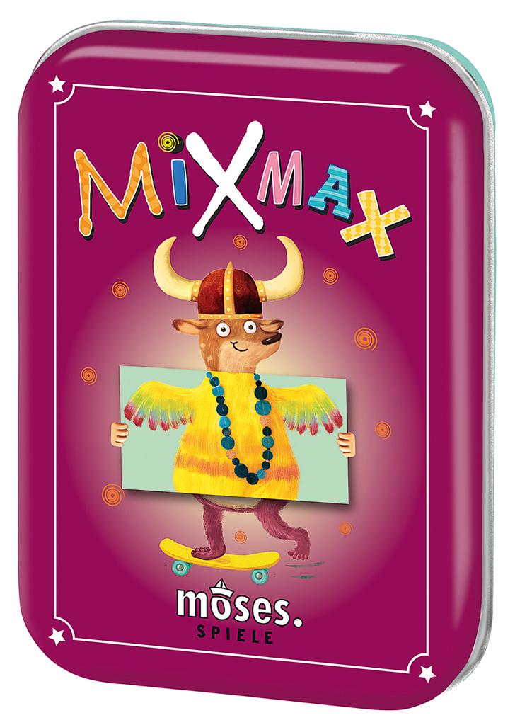 Mix Max - Kartenlegespiel mit lustigen Figuren
