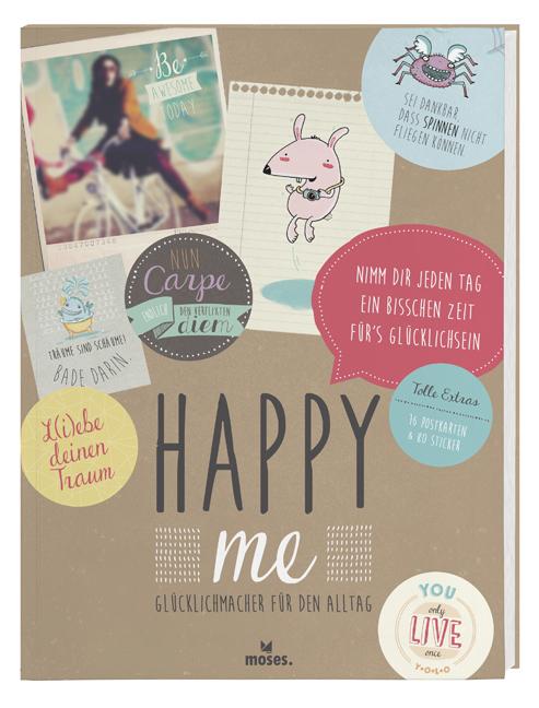 Happy me Glücklichmacher für den Alltag Geschenkbuch
