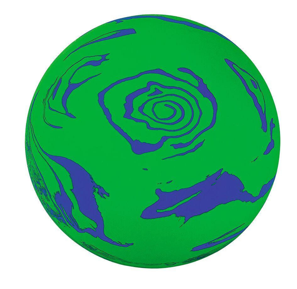 Planeten Sprungball grün